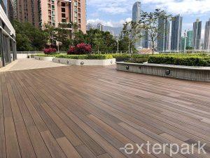 exterpark singapore wood decking